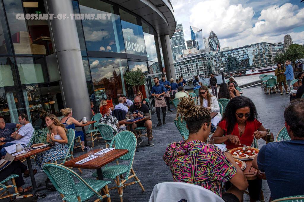 การเติบโตทางเศรษฐกิจ ของอังกฤษ เศรษฐกิจสหราชอาณาจักรยังคงฟื้นตัวอย่างต่อเนื่องในเดือนสิงหาคมเติบโต 2.1% เนื่องจากโครงการ Eat Out to Help Out